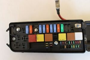 Opel Vauxhall Vectra C Signum Fuse Relay Box W Fuses And Relays