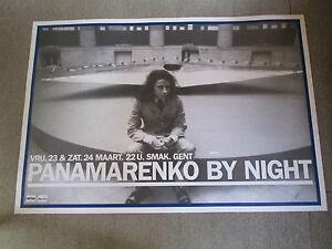 PANAMARENKO-BY-NIGHT-AFFICHE-ORIGINAL-2001