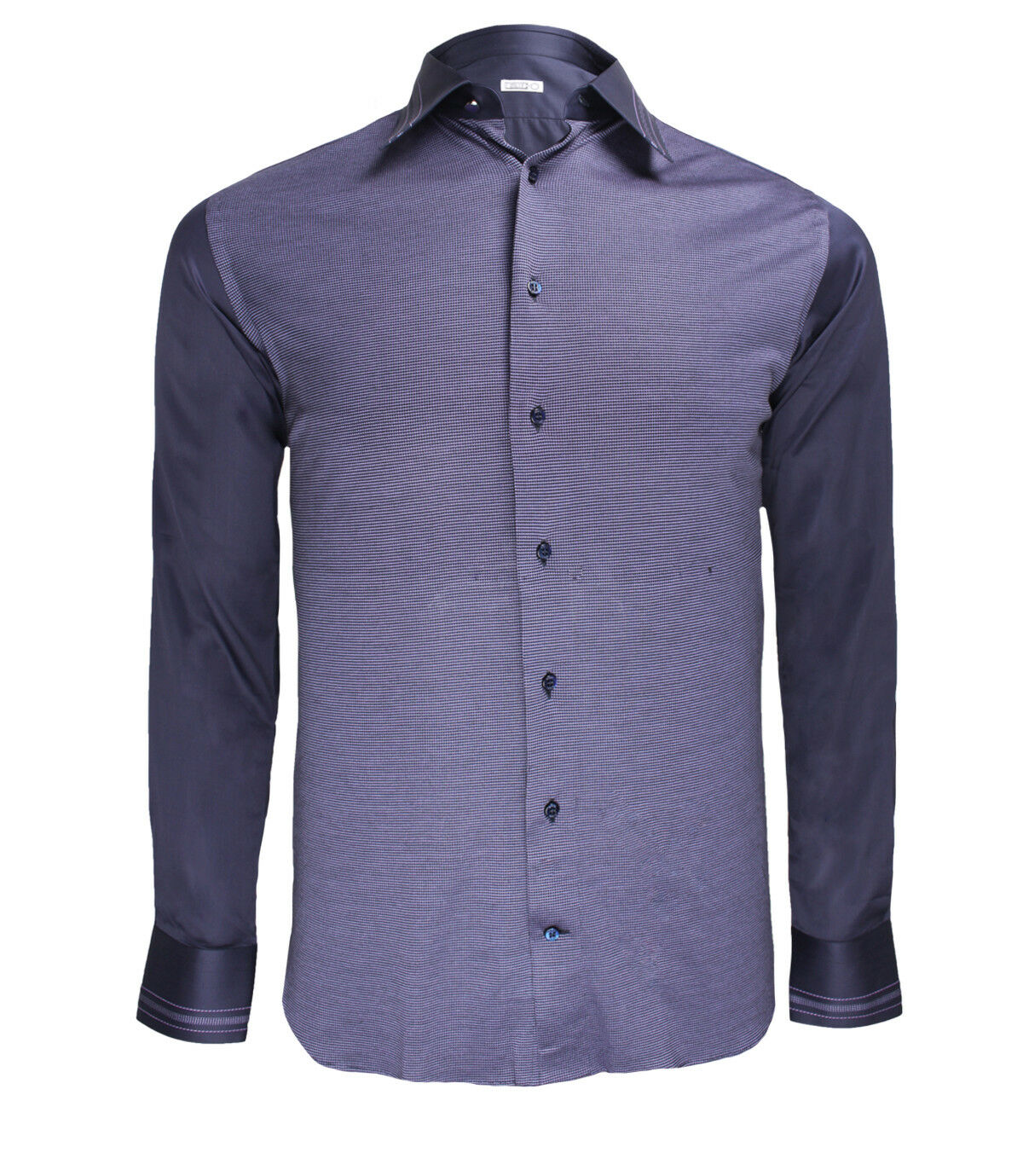 Zilli Men's Purple Cotton Dress Shirt Classic Fit, Size 40, 41, 44 Free Shipping