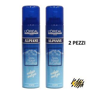 L-039-Oreal-Lacca-Alpiane-Professionale-Per-Capelli-Fissaggio-Forte-250-ml-2-PEZZI