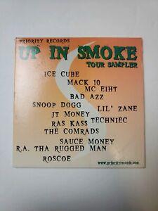 Up In Smoke Tour Sampler Mack 10 Ice Cube Snoop Dogg (2000, Priority)
