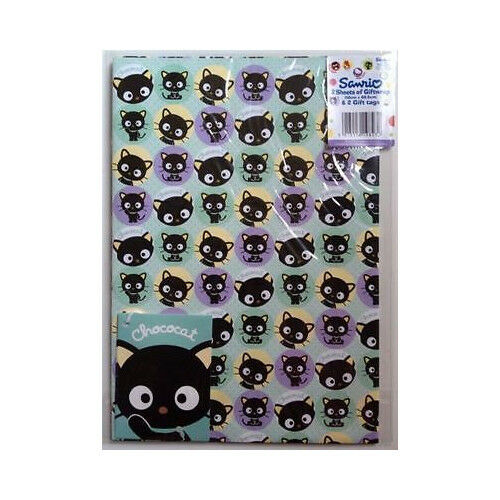 Sanrio Chococat Choco Gift Wrapping Paper 10 Sheets 50cm x 69.5cm 10 Gift Tags