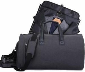 Black-Suit-Bag-Travel-Garment-Luggage-Waterproof-Clothes-Storage-Duffel-Bag
