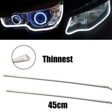 Thinnest X-Bright 45cm Pure White LED Strip Day Lights For Headlight DRL Mods