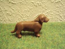 3728 playmobil dier hond bruine teckel