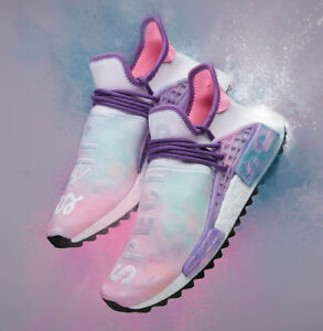 big sale 7ee0d 7f9b0 Image is loading Pharrell-Williams-HU-HOLI-Adidas-Originals-NMD-Size-