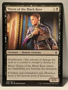 1x Knights of the Black Rose FOIL NM Conspiracy Take the Crown mtg