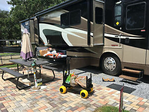 Rv Carts And Wagons Motor Home Toy Hauler Accessories