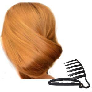 Bananen-Frisur-Haarkamm-Twister-Haardreher-French-Twist-Maker-Dutt-Knotenrolle