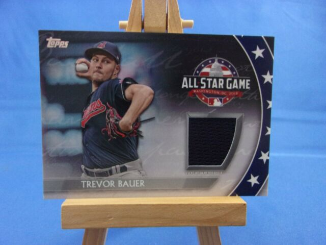 Trevor Bauer Cleveland Indians All Star Game Patch Baseball Jersey
