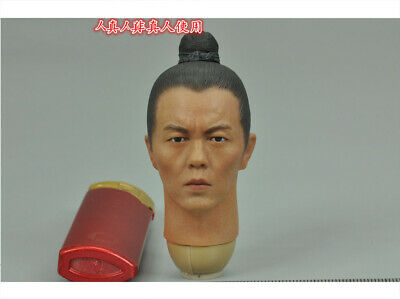 """KLG  KQ001 The Song Dynasty Archert  1//6 Scale Head Sculpt For 12/"""" Male Figure"""