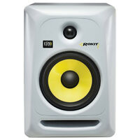 Krk Rp6g3 Rokit 6 Active Home Recording Studio Monitor Speaker White Single