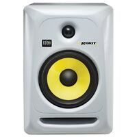 Krk Rp6g3 Rokit 6 Active Home Recording Studio Monitor Speaker White Single