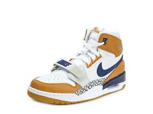 32f8d312d36fbb Nike Mens Air Jordan Legacy 312 NRG Just Don White Navy-Ginger ...