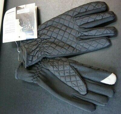 Damen/herren Touch Screen Handschuhe / Winterhandschuhe, Schwarz, Gesteppt, Neu