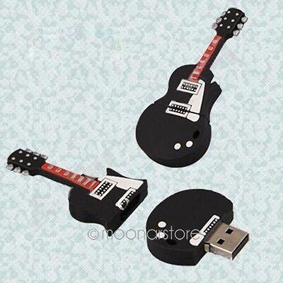 Cartoon Guitar 8GB 8 GB USB 2.0 Flash Drive Enough Memory Pen Stick Thumb U Disk