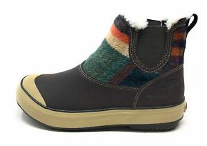 Keen-Women-039-s-Elsa-Chelsea-WP-Ankle-Winter-Boots-Coffee-Bean-Wool-Size-5-M-US