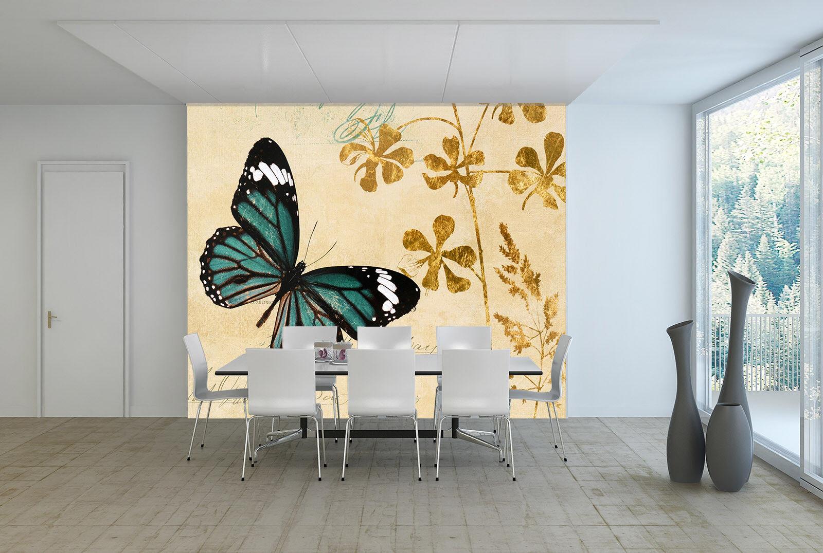 3D Butterfly 4157 Wallpaper Murals Wall Print Wall Mural AJ WALLPAPER UK Carly
