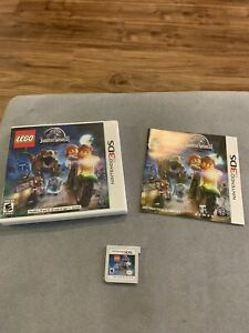 Nintendo-3DS-LEGO-Jurassic-World-Game-Complete-CIB-Box-Manual-Park-Dinosaurs-2DS