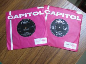 THE BAND - THE WEIGHT & RAG MAMA RAG -  1st ISSUES CAPITOL IN CO. SLEEVES EX!