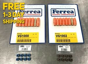 Ferrea FOR Civic Integra B18C B16 Intake Exhaust Valve Guides /& Supertech Seal