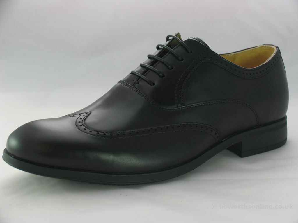 bbd070a8e5 Steptronic Men's Bugatti Leather Brogues Lace-up Formal Black ...