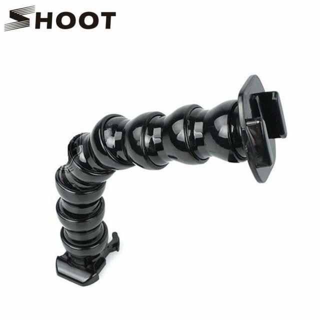 SHOOT Adjustable Gopro Gooseneck Neck Holder Flex Clamp