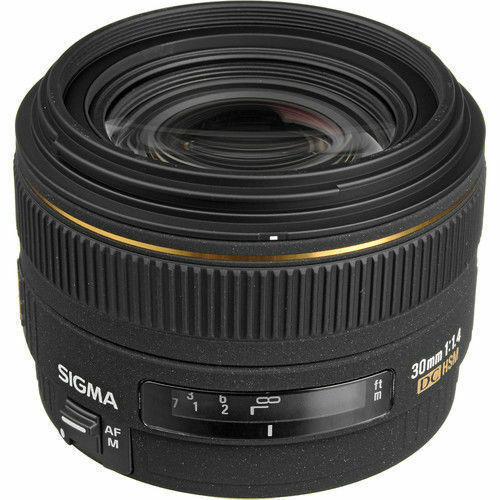 Sigma DG 30mm f/1.4 HSM EX DC Lens For Canon