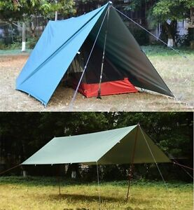 Image Is Loading Outdoor New Camping Tent Tarp Awning Sun Shade