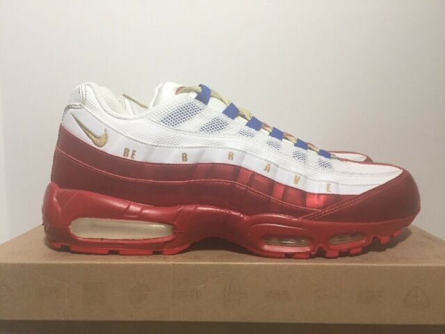san francisco d93b3 16711 Nike Air Max 95 LE DB Doernbecher 2011 White  Gold Men s Size 14 - 507450
