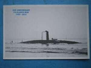 POSTCARD-HMS-CONQUERRO-SUBMARINE-S48
