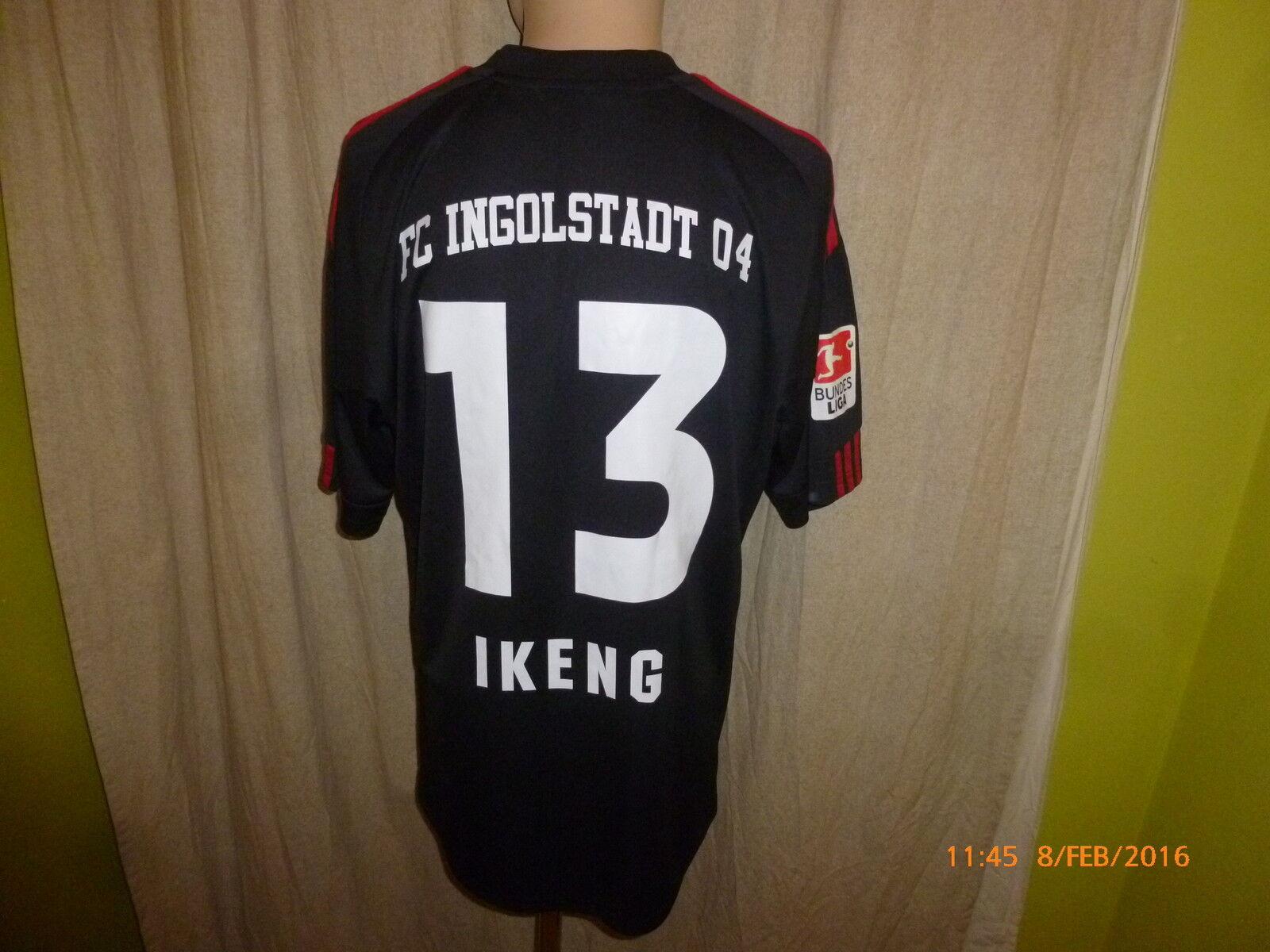 FC Ingolstadt Original Adidas Matchworn Trikot 2011 12  Audi  + Nr.13 Ikeng Gr.L