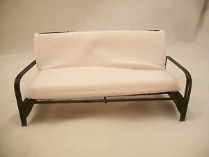 Bed - Futon / Sofa EIWF312 dollhouse miniature furniture 1/12 scale metal