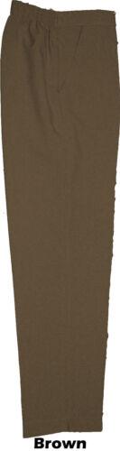 Damen Hosentaschen elastischer Rücken Hosen Größe 10-24 Übergrößen 73.7cml Reg