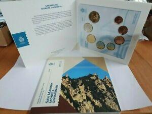 Offiz-KMS-Kursmuenzensatz-1-Cent-2-Euro-San-Marino-2020-FDC-im-Blister
