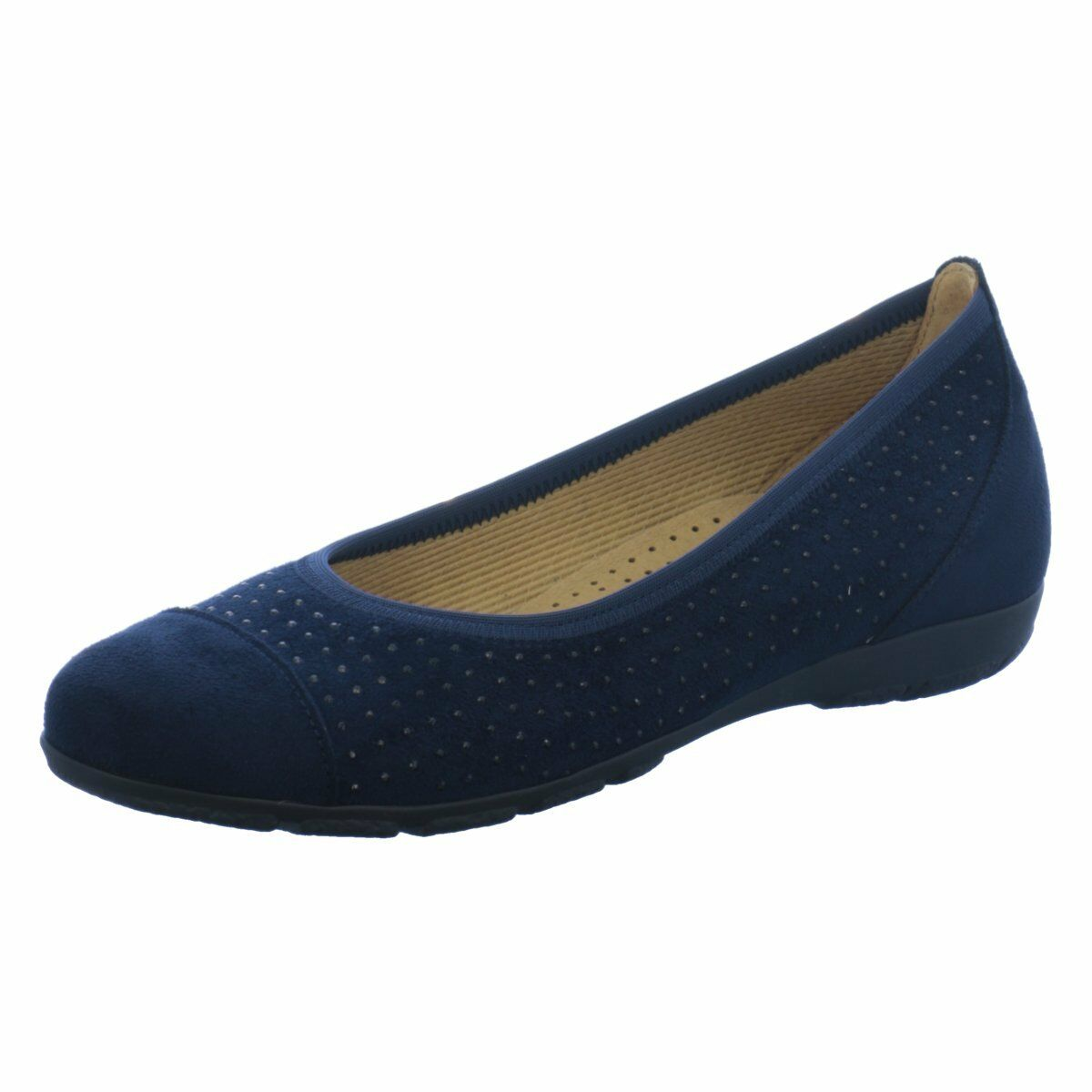Gabor Damen Ballerinas 84163-46 blau blau blau 378618  | Die erste Reihe von umfassenden Spezifikationen für Kunden  | Attraktive Mode  19a045