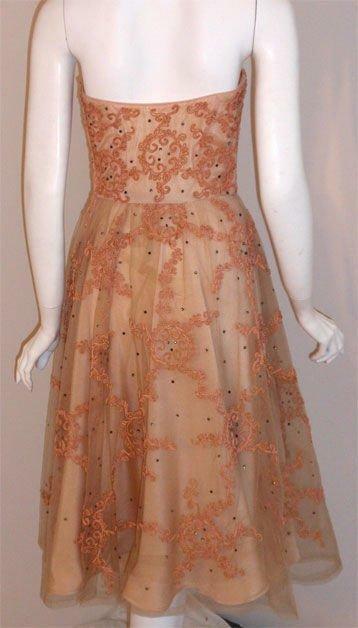 CEIL CHAPMAN 1960s Vintage Cocktail Dress - image 4