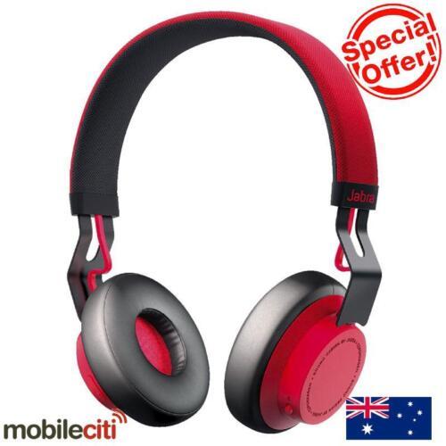 1 of 1 - Jabra Move Bluetooth Wireless Headphones - Red