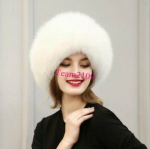 c46dae9a1 Details about Winter Ushanka Trapper Hat Ladies Faux Fur Russian Cossack  Ski Caps Warm Fashion