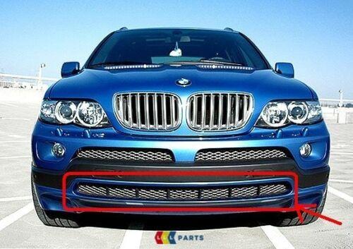 BMW GENUINE X5 E53 LCI 2003-2006 FRONT TITAN CENTRE BUMPER MESH GRILL 7123956
