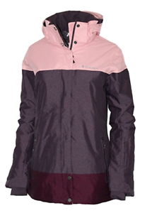 Columbia-Women-039-s-Snowshoe-Mountain-Omni-Heat-Waterproof-Hooded-Ski-Jacket-XS