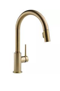 Delta-9159-CZ-DST-Trinsic-1-Handle-Pull-Down-Kitchen-Faucet-Champagne-Bronze
