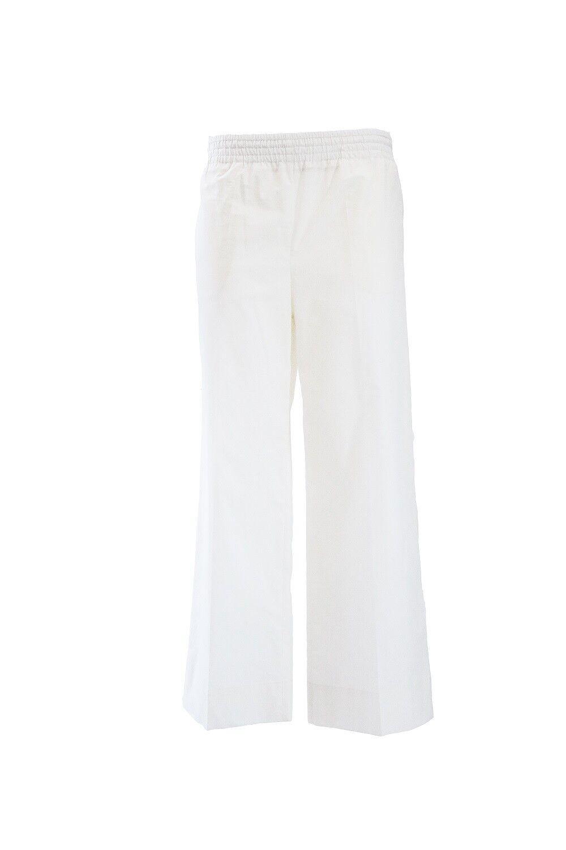 Woman Pants Jucca j2714033 Cream Summer 2018 P E 2018