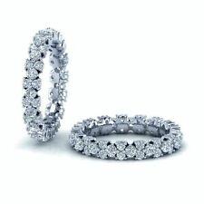 RRP £2000..!! 1.40Ct Round Diamonds Designer Full Eternity Ring in White Gold