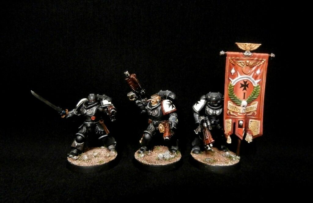 Pro-Pintado Primaris marines espaciales comando escuadrón matar equipo Comisión 3 Modelos