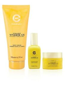ELIZABETH GRANT Vitamin C5 Hydra-Moist 3-Pc Kit (Day Cream, Serum, Body Cream)