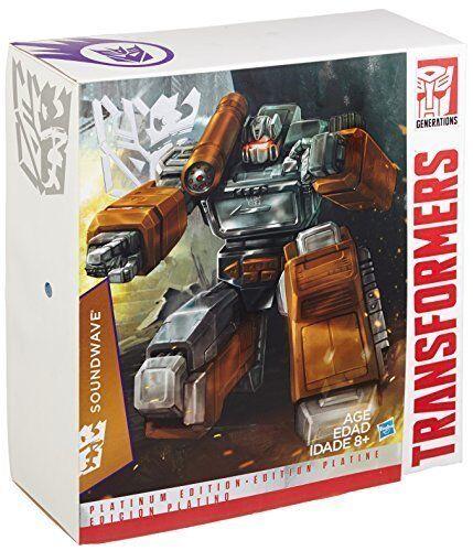 Transformers Masterpiece MP-13 Soundwave Platinum Edition ToysRUs Exclusive