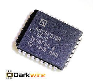 2x-Am29F010B-90-PLCC32-1-Mbit-Boot-Sector-Flash-Memory-ECU-Car-Computer-Immo