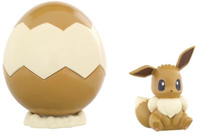 "TAKARA TOMY Pokemon /"" Pokemon /& Egg Box /"" Eevee  Mini Figure Japan import NEW"
