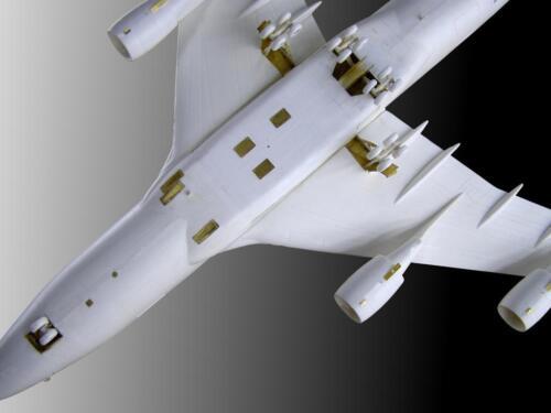 1//144 Metallic Details Detailing set for aircraft model Boeing 747 MD14416